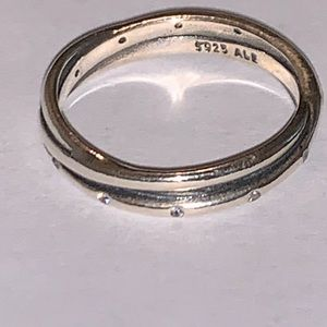 Twisted pandora Ring Silver